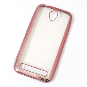 Ốp lưng trong viền màu Asus Zenfone Go 4.5 inch (Hồng)