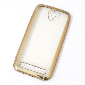 Ốp lưng trong viền màu Asus Zenfone Go 4.5 inch (Vàng)