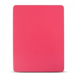 Bao da iPad 2/3/4 hiệu Kaku Carbon Fiber (đỏ)
