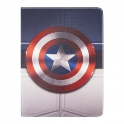 Bao da iPad 2/3/4 Di-Lian Captain America (Version 1)