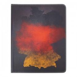 Bao da iPad 2/3/4 Di-Lian in hình Quốc Kỳ Đức