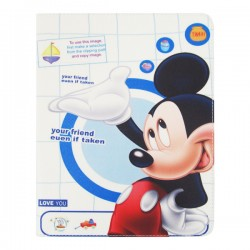 Bao da iPad 2/3/4 Di-Lian Chuột Mickey (Version 4)