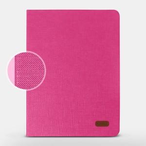 Bao da iPad Air 2 hiệu Kaku Silk Series (hồng)