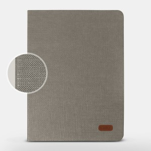 Bao da iPad Air 2 hiệu Kaku Silk Series (Xám)