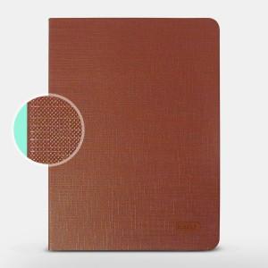 Bao da iPad Air 2 hiệu Kaku Silk Series (Nâu)