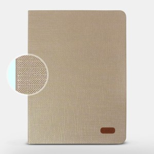 Bao da iPad Air 2 hiệu Kaku Silk Series (Vàng)