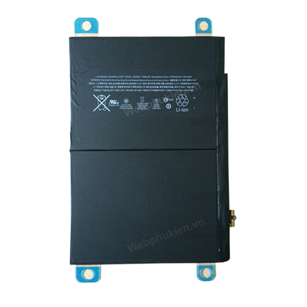 Pin iPad Air 2 (A1547) - 7340mAh Original Battery