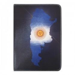 Bao da iPad Mini 2/3 hiệu Di-Lian Quốc Kỳ Argentina