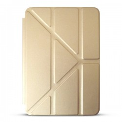 Bao da iPad Mini 2/3 Smart Case Xếp Tam Giác (vàng Champagne)