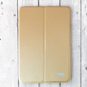 """Bao da iPad Mini 4 hiệu KAKU """"hai da"""" mới (Vàng)"""
