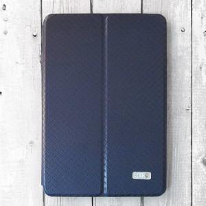 """Bao da iPad Mini 4 hiệu KAKU """"hai da"""" mới (xanh Navy)"""