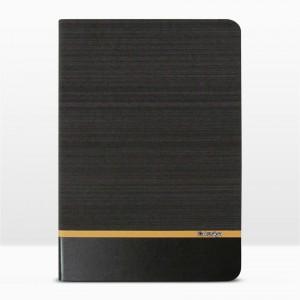 Bao da iPad 9.7 inch 2017 vân vải hiệu Kaku Brown Series (Nâu)