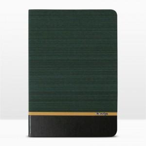 Bao da iPad 9.7 inch 2017 vân vải hiệu Kaku Brown Series (Xanh Ngọc)