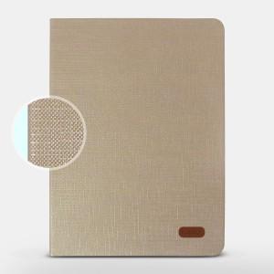 Bao da iPad Pro 9.7 inch hiệu Kaku Silk Series (Vàng)