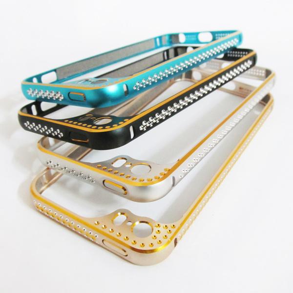 Khung viền nhôm iPhone 5/5S Lens Protector (Made in ThaiLand) - Mẫu 2