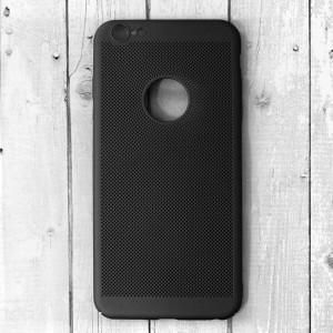 Ốp lưng lưới iPhone 6 Plus / 6S Plus chống nóng hở Táo (Đen)