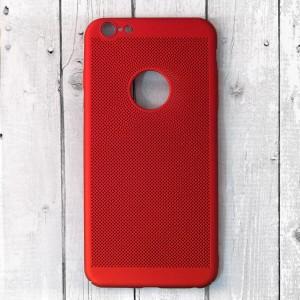 Ốp lưng lưới iPhone 6 Plus / 6S Plus chống nóng hở Táo (Đỏ)