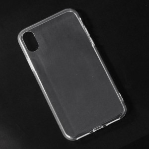 Ốp lưng iPhone X dẻo (trong suốt)