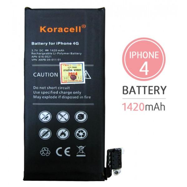 Pin iPhone 4G hiệu Koracell