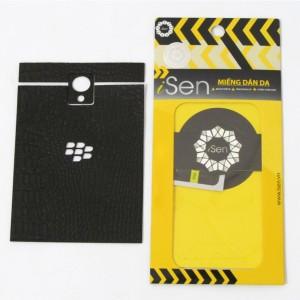 Miếng dán da Bò Blackberry Passport hiệu iSen (Nâu)