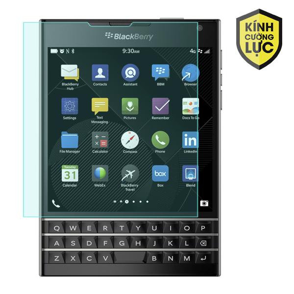 Miếng dán kính cường lực Blackberry Passport (trong suốt)