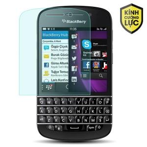 Miếng dán kính cường lực Blackberry Q10 (trong suốt)