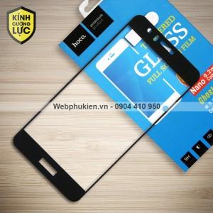 Miếng dán cường lực Huawei Honor 8 hiệu HOCO Full màn hình (Đen)