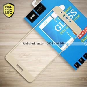 Miếng dán cường lực Huawei Honor 8 hiệu HOCO Full màn hình (Vàng)