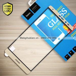 Miếng dán cường lực Huawei Mate 8 hiệu HOCO Full màn hình (Vàng)