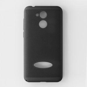 Ốp lưng lưới Huawei Honor 6A chống nóng (Đen)