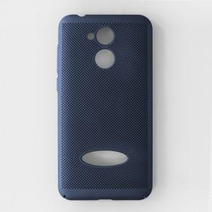 Ốp lưng lưới Huawei Honor 6A chống nóng (Xanh)