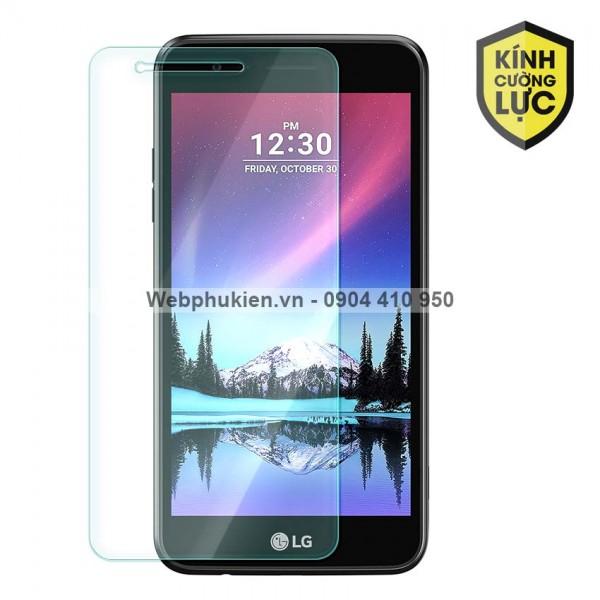 Miếng dán màn hình cường lực LG K4 2017 (trong suốt)