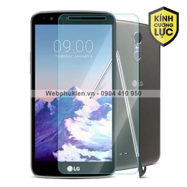 Miếng dán màn hình cường lực LG Stylus 3 (trong suốt)