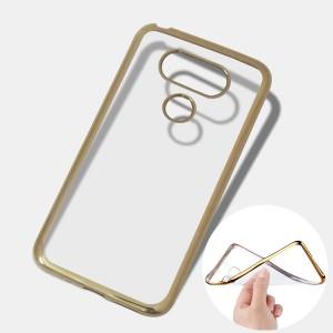 Ốp lưng trong viền màu LG G5 (Vàng)