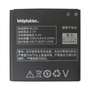 Pin Lenovo A60+ (BL201) - 1500mAh Original Battery