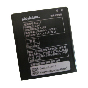 Pin Lenovo BL212 - 2000mAh (A708T/ S898T/ A628T)