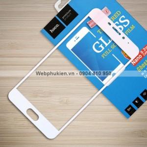Miếng dán cường lực Meizu M5 Note hiệu HOCO Full màn hình (Trắng)