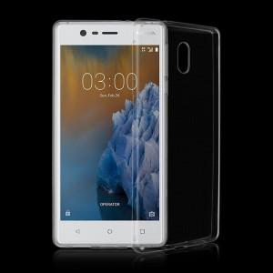 Ốp lưng Nokia 3 dẻo (trong suốt)