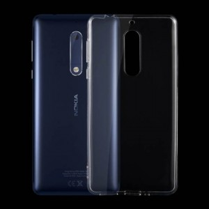 Ốp lưng Nokia 5 dẻo (trong suốt)