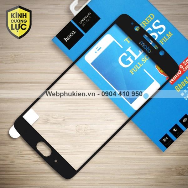 Miếng dán cường lực Motorola Moto G5 hiệu HOCO Full màn hình (Đen)