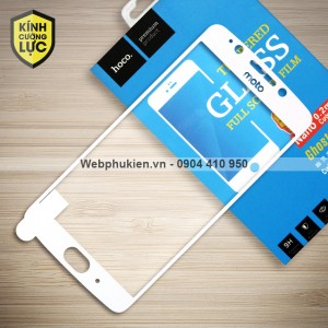 Miếng dán cường lực Motorola Moto G5 hiệu HOCO Full màn hình (Trắng)