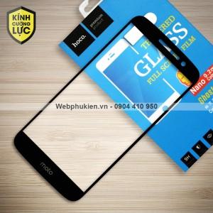 Miếng dán cường lực Motorola Moto M hiệu HOCO Full màn hình (Đen)