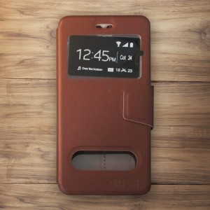 Bao da Nokia 6 hiệu OnJess (Nâu) - Case dẻo