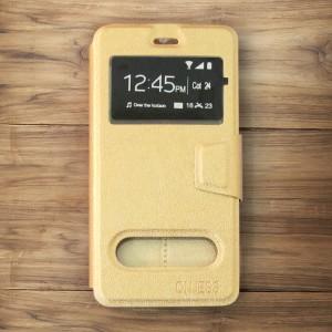 Bao da Nokia 6 hiệu OnJess (Vàng) - Case dẻo