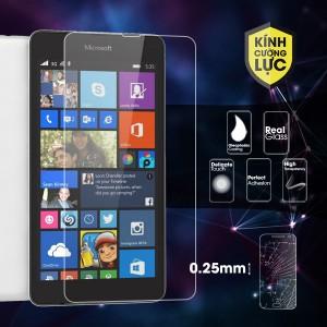Miếng dán kính cường lực Microsoft Lumia 535 (trong suốt)