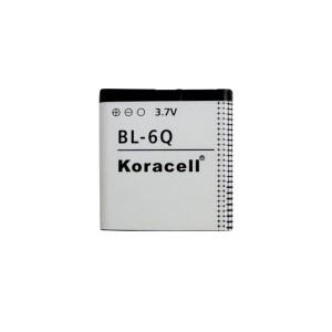 Pin Koracell Nokia 6700 (BL-6Q) - 850mAh