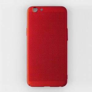 Ốp lưng lưới Oppo A59 chống nóng (Đỏ)