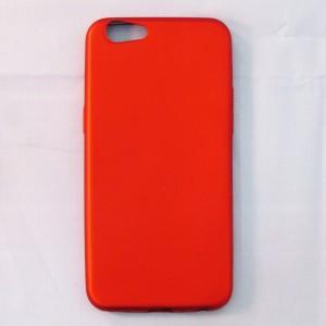 Ốp lưng dẻo Oppo F3 Lite / A57 nhung (đỏ)