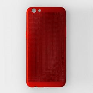 Ốp lưng lưới Oppo R9s chống nóng (Đỏ)