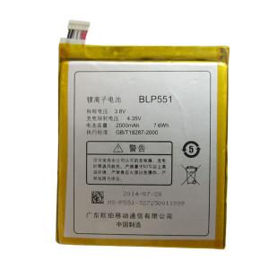 Pin Oppo Find Mirror R819 (BLP551) - 2000mAh Original Battery